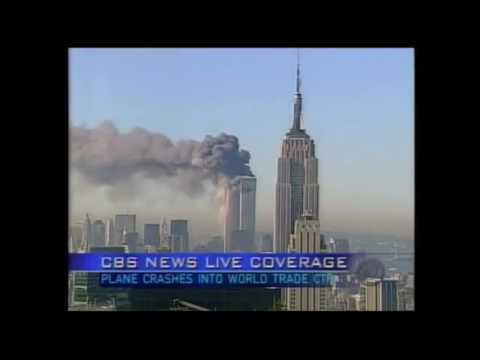 CBS News 9/11 coverage 8:52 a.m--12pm EST