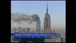 CBS News 9/11 coverage 8:52 a.m--12pm EST