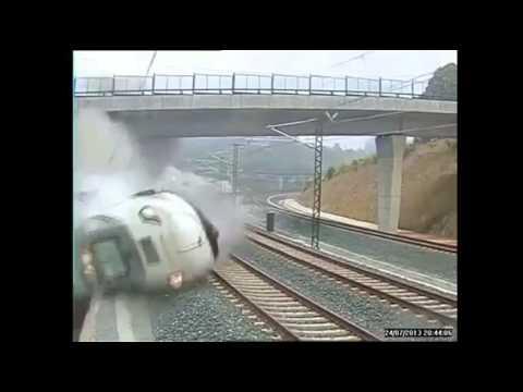 Santiago, il video dell'incidente del treno