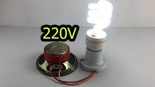 Amazing Technology Free Energy Generator By Speaker Magnet 100% At Home