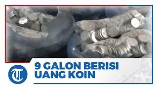 Seorang Pria Membeli Mobil Rp271 Juta Gunakan Uang Receh yang Disimpan Dalam 9 Galon