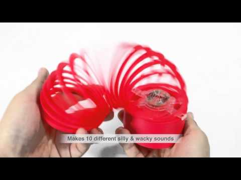 Youtube Video for Slinky with Sound FX -  Boing, Whoop, Splat!