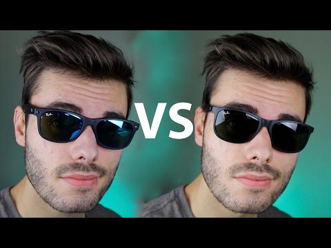 Ray-Ban New Wayfarer vs Andy
