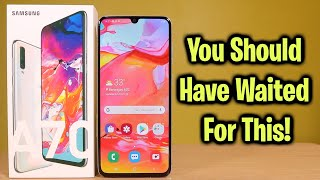 Samsung Galaxy A70 Review - You should've waited for this!