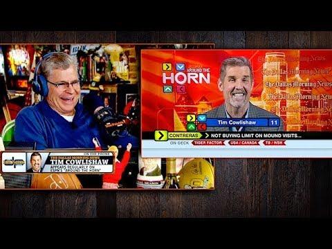 Tim Cowlishaw Admits to Tanking on 'Around the Horn' | The Dan Patrick Show | 2/22/18