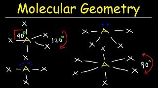 Molecular Geometry & VSEPR Theory - Basic Introduction