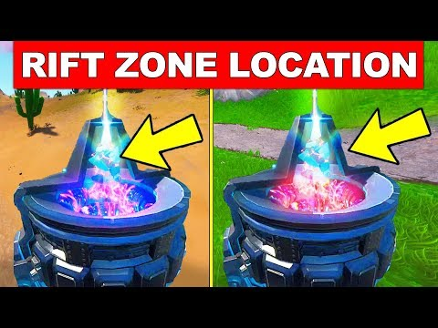 VISIT A RIFT ZONE LOCATION Fortnite Week 3 Challenges (Worlds Collide)