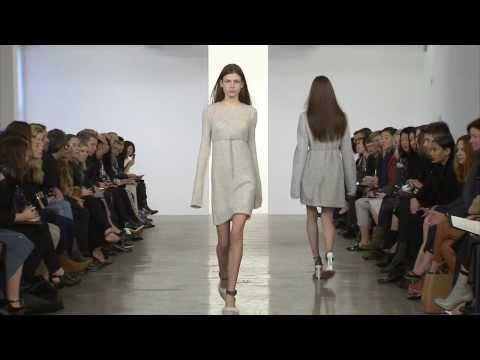 Calvin Klein Collection Pre-Fall 2014 Runway Show - презентация одежды Calvin Klein