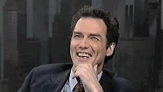 Norm Macdonald on Letterman - Fired From SNL by NBC 1998