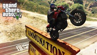 AWESOME PRECISION STUNT! - (GTA V Stunts & Fails)