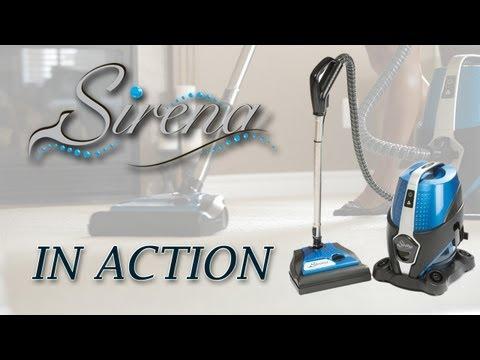 Water Vacuum Cleaner - Sirena In Action