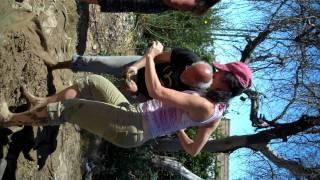 Kris and cob dancing