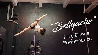 """Bellyache"" - Pole dance choreography & performance at a pole show"