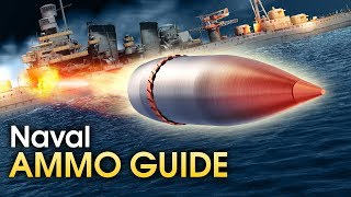 Naval ammo guide / War Thunder