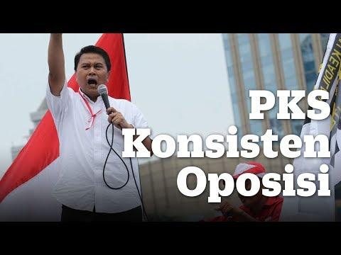 PKS Konsisten Oposisi