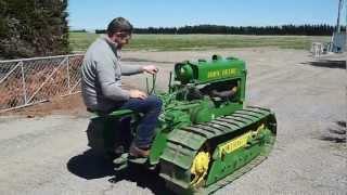 preview picture of video 'John Deere Lindeman - Pete Reversing'