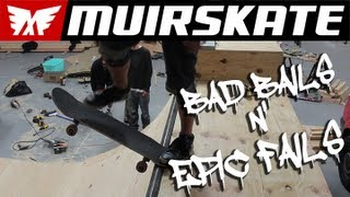 Bad Bails n' Epic Fails | MuirSkate Longboard Shop