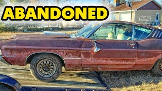 Abandoned Ford Torino GT 1969
