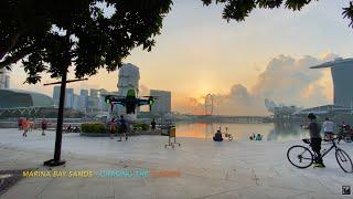 Marina Bay Sands   Chasing the Sunrise ???????? DJI FPV