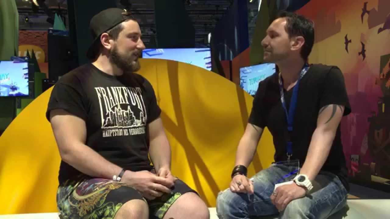 Wolf im Inside PlayStation-Interview mit Multi Media-Künstler Ollanski