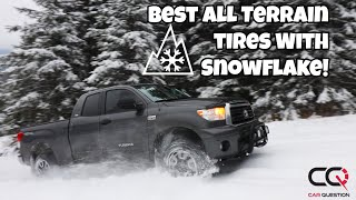 The 6 best all-terrain truck tires with a Mountain/Snowflake Symbol you can buy!