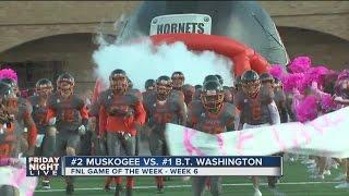 Booker T. Hornets vs Muskogee Roughers, Friday Night Football Highlights