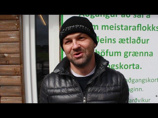 Mikael Nikulásson: Stefnan að spila skemmtilegan fótbolta