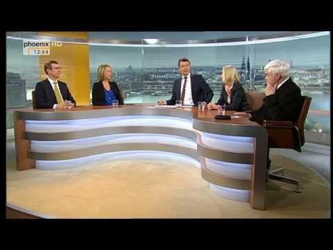03.2015 - Prof. Dr. Marschal im ard-Presseclub - Thema: Wie zerbrechlich ist Europa?