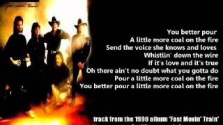 Restless Heart - A Little More Coal On The Fire ( + lyrics 1990)