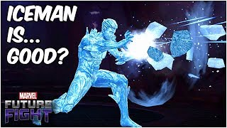 ICEMAN HAS SO MUCH POTENTIAL!! BUT A CLOSER LOOK... - Marvel Future Fight