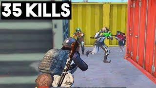 MY NEW RECORD!!!   35 KILLS SOLO vs SQUADS   PUBG Mobile 🐼