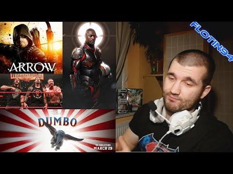 Podcast - DC Comics, WWE, Disney 3/7/19 | FloTin