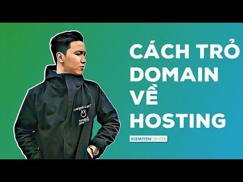 Hướng dẫn trỏ domain về hosting Cpanel theo 3 trường hợp | Kiemtiencenter