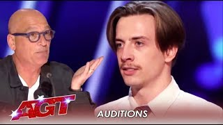 Awkward! Karaoke Singer Proves That SONG CHOICE Is Most Important | America's Got Talent 2019