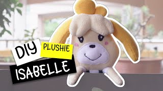 DIY Animal Crossing Isabelle Plushie! Isabelle Plush Toy (FREE Pattern) Tutorial