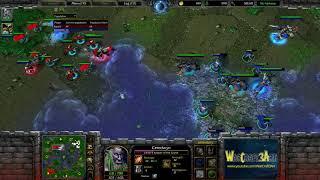 Moon(NE) vs HawK(HU) - WarCraft 3 Frozen Throne - RN3848
