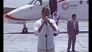 preview picture of video 'Rafael Correa en Santiago de Cuba'