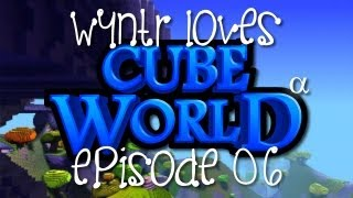 Wyntr Loves Cube World E6 - Aska City What?