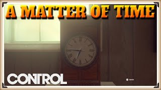 Control A Matter Of Time Side Mission (Motel Clock Puzzle & Solution)