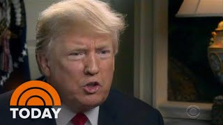 President Donald Trump's '60 Minutes' Interview: Climate Change, Russia And Brett Kavanaugh | TODAY