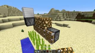 [BROKEN in 16w41a] Compact and expandable sugarcane farm with Observer Blocks
