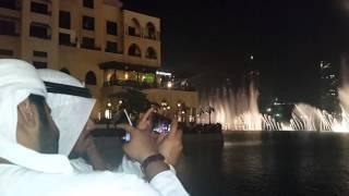 Поющие фонтаны Дубай.  Арабская музыка