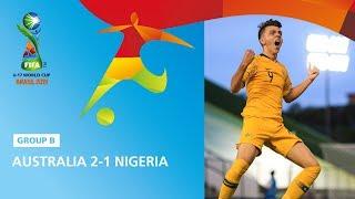 Australia v Nigeria Highlights - FIFA U17 World Cup 2019 ™