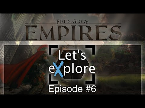 Let's eXplore: Field of Glory: Empires - Persia 550 BCE - 330 BCE Preview - Egypt Ep.6