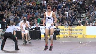 Sebastian Rivera of CBA wins 113 pound state wrestling title in Atlantic City