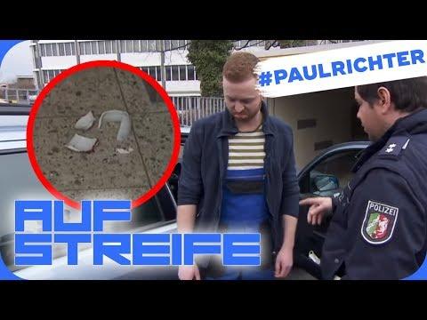 Tatwaffe Teetasse: Hat der Klempner etwas zu verbergen?   #PaulRichterTag   Auf Streife   SAT.1 TV