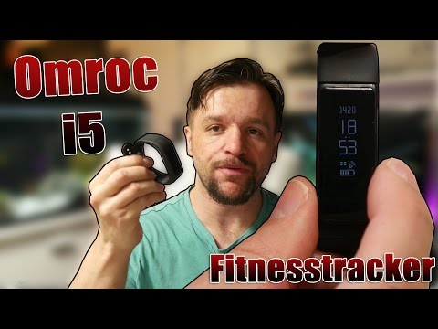 Omorc Bluetooth Fitness Tracker, Sport Armband I5 Plus  [Deutsch] 4K