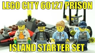 LEGO CITY PRISON ISLAND STARTER SET 60127 UNBOXING & REVIEW