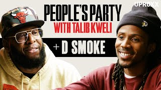 Talib Kweli & D Smoke Talk 'Rhythm + Flow,' Snoop, And Meeting Nipsey | People's Party Full Episode