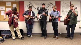 """Trampled By Turtles """"Alone"""" (Lawrence High School Classroom Sessions Pt.1)"""